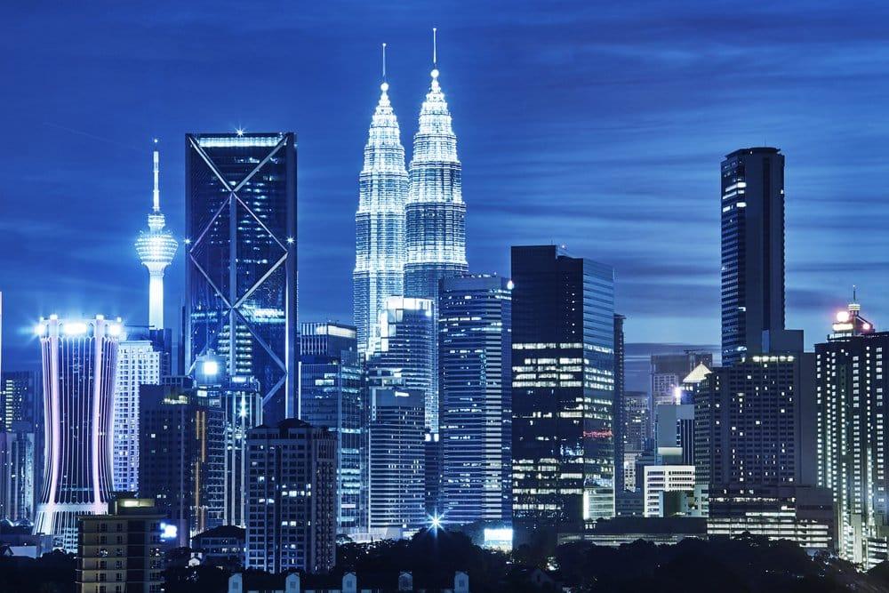 Petronas Towers in Kuala Lumpur @shutterstock