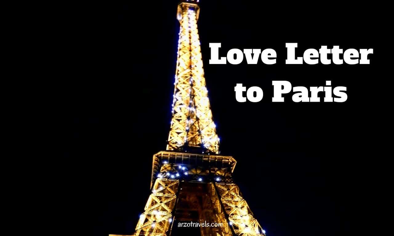 Paris Love Letter