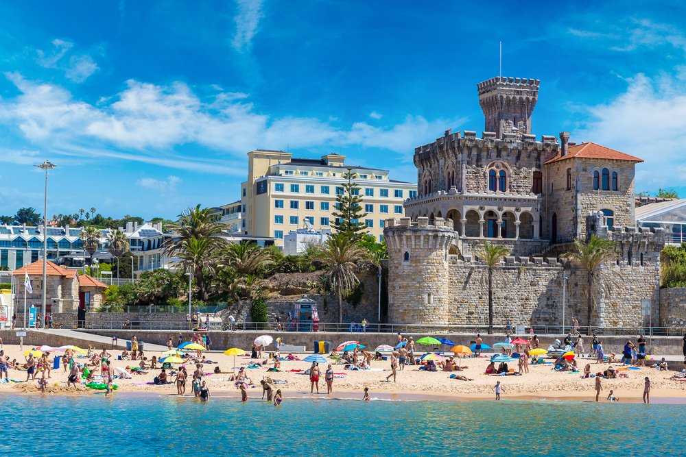 Estoril in Portugal @shutterstock
