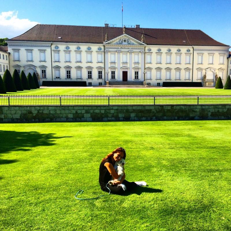 Berlin, Schloss Bellevue in Berlin