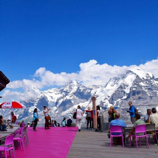 On the Trails of James Bond- Visiting Schilthorn 4