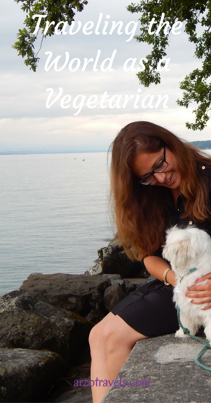A Vegetarian Travels the World