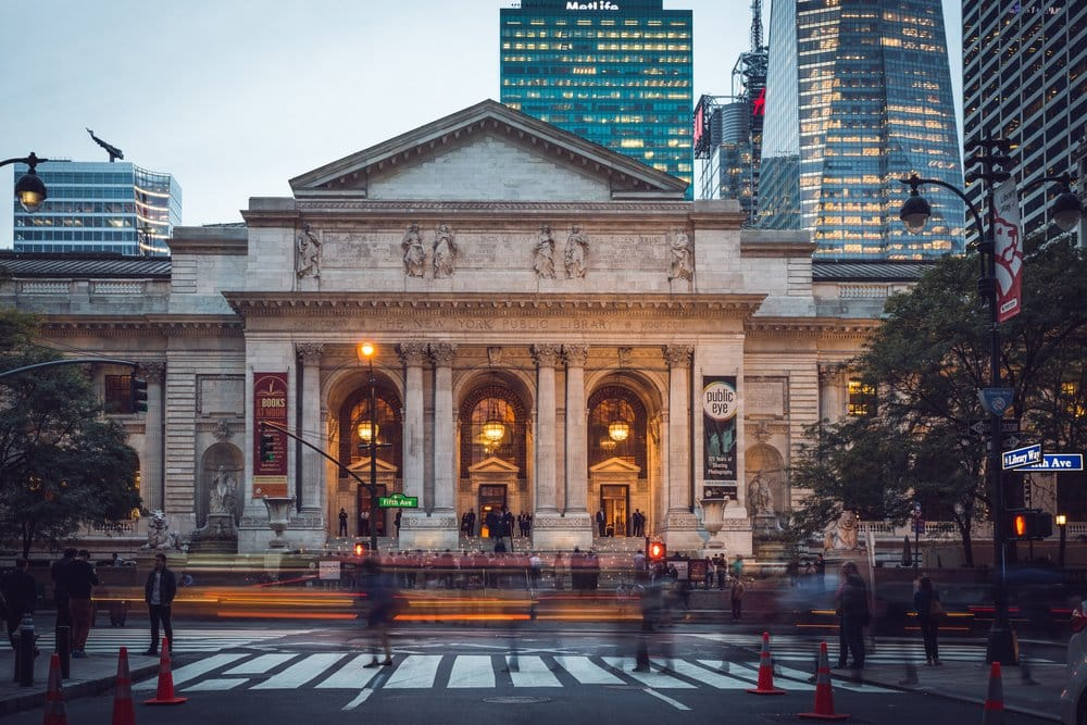 Public Library in New York @shutterstock