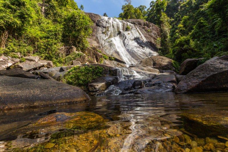 7 Wells Waterfall (Telah Tujah Waterfall), Langkawi @shutterstock