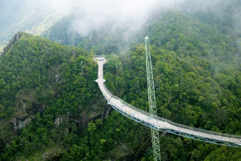 Langkawi - the Skywalk from a different perspective @shutterstock