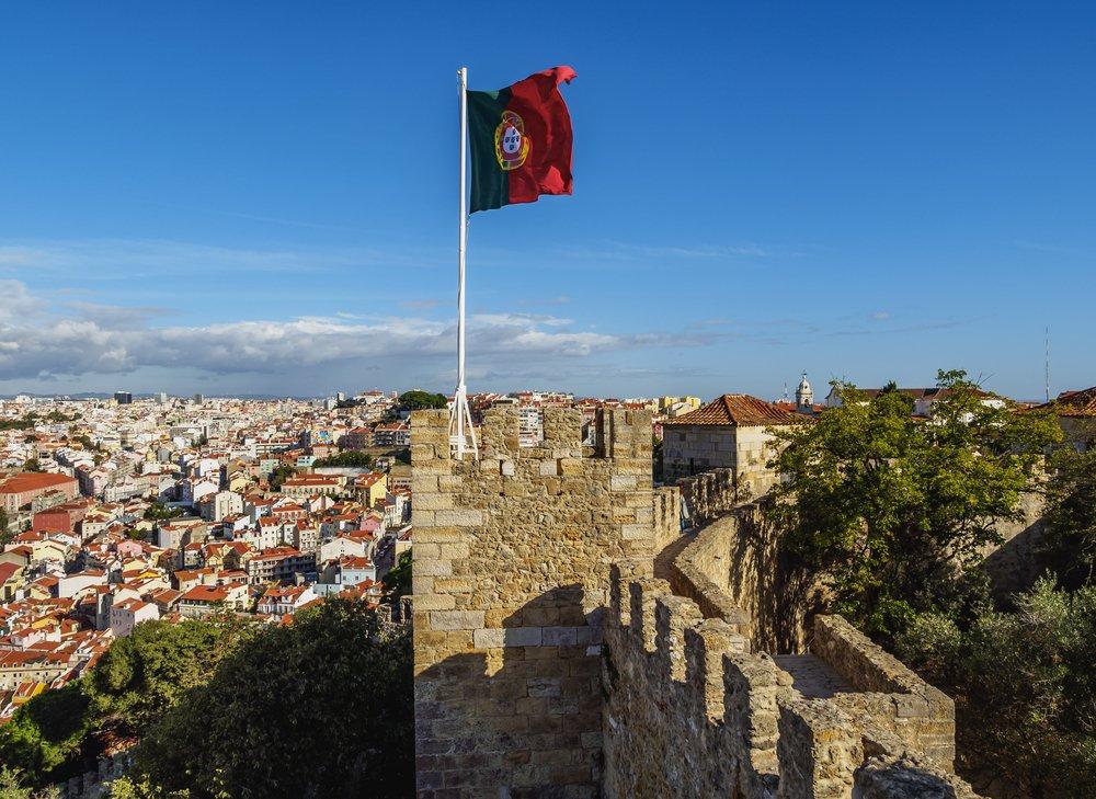 Castelo de Sao Jorge @shutterstock