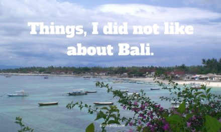 5 Reasons not to Visit Bali
