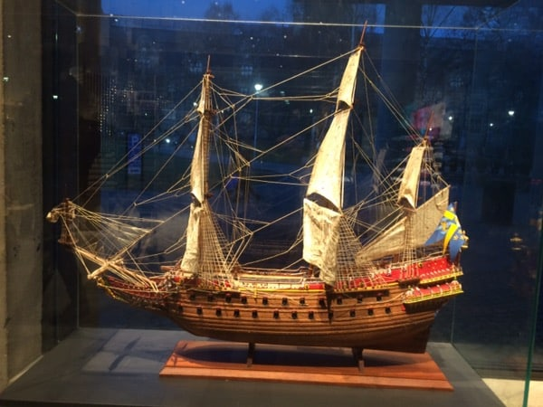 Miniature Vasa Ship