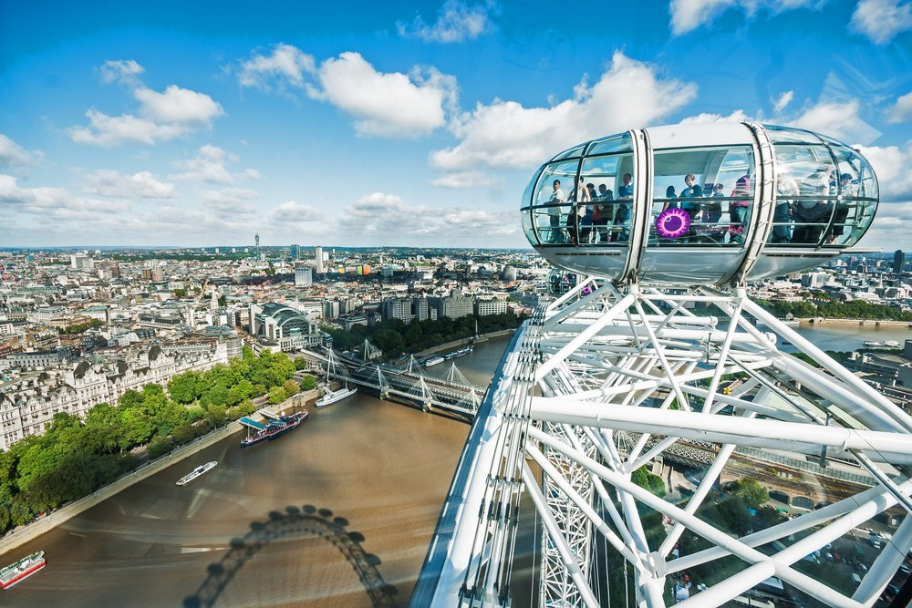 London Eye @shutterstock