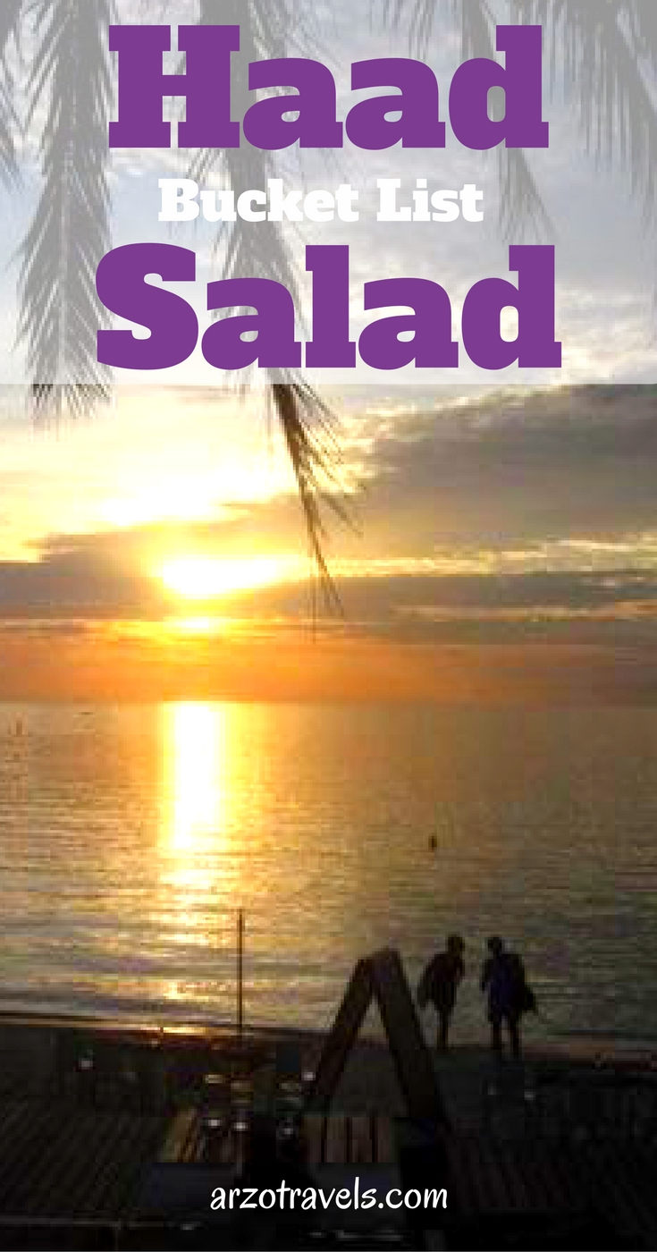 Thailand. Find out why Hand Salad is on my bucket list.