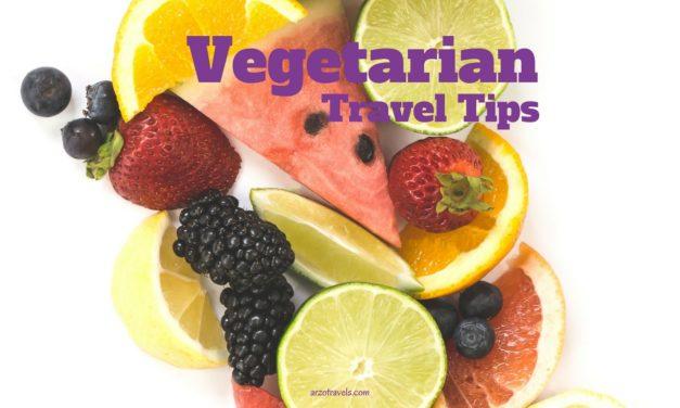 Travel Tips For Vegetarians
