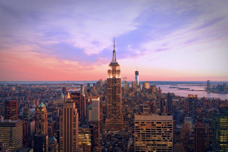 New York -#1 @shutterstock 10 Most Favorite Cities