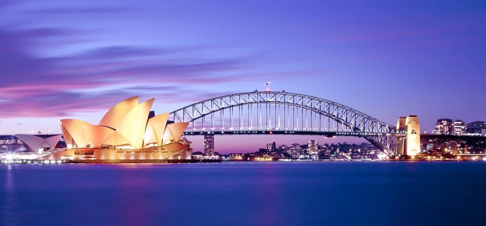 Sydney @shutterstock