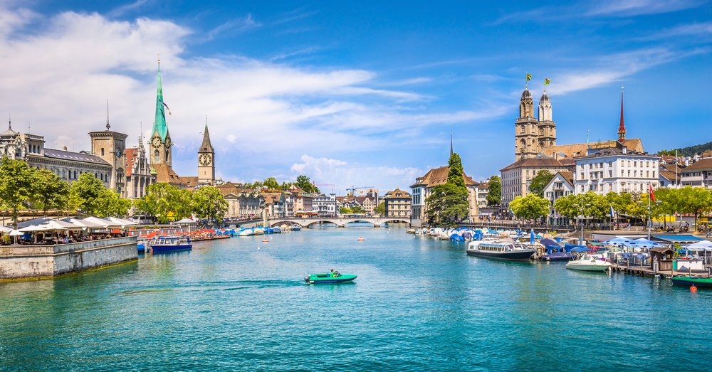 Zurich @shutterstock best places to stay in Zurich