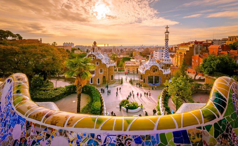 Barcelona @shutterstock best cities to visit in Spain