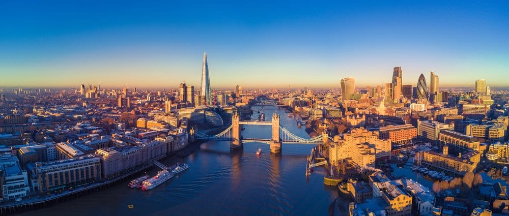 View over London @shutterstock