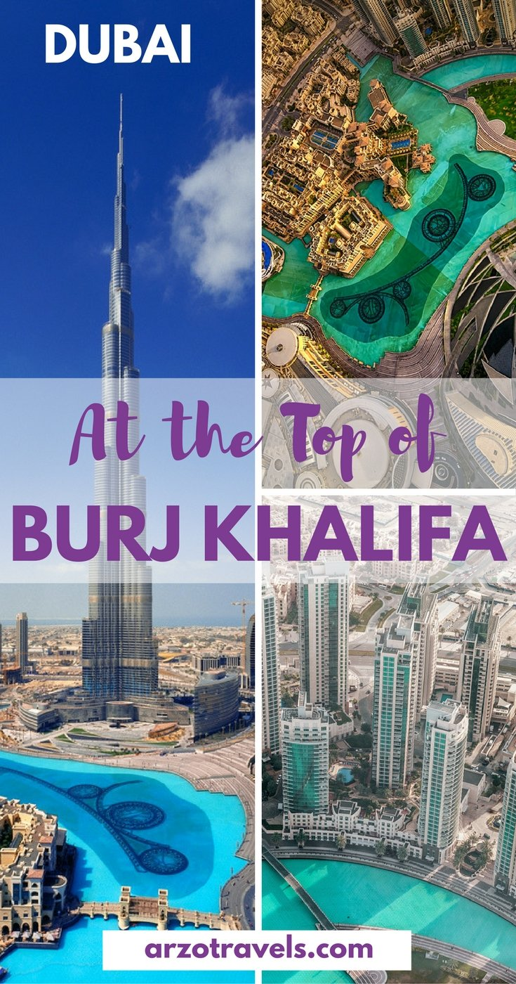 Is it worth to get on top of Burj Khalifa in Dubai, th highest building in the world, or not UAE