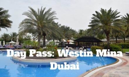 Beach and Pool Access Day Pass in Westin Dubai Mina