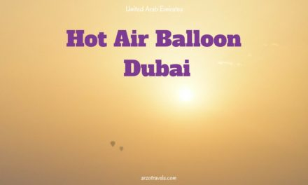 Hot Air Balloon Tour in Dubai