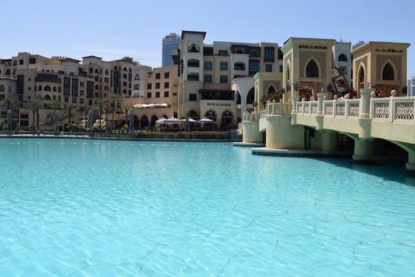 Dubai Fountain at Dubai Mall