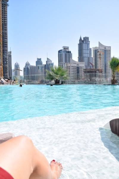 Pool at Intercontinental Dubai Marina