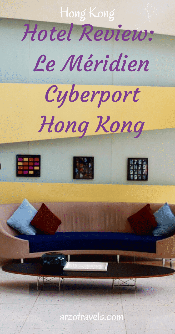 Hotel review: Le Meridian Cyberport Hong Kong