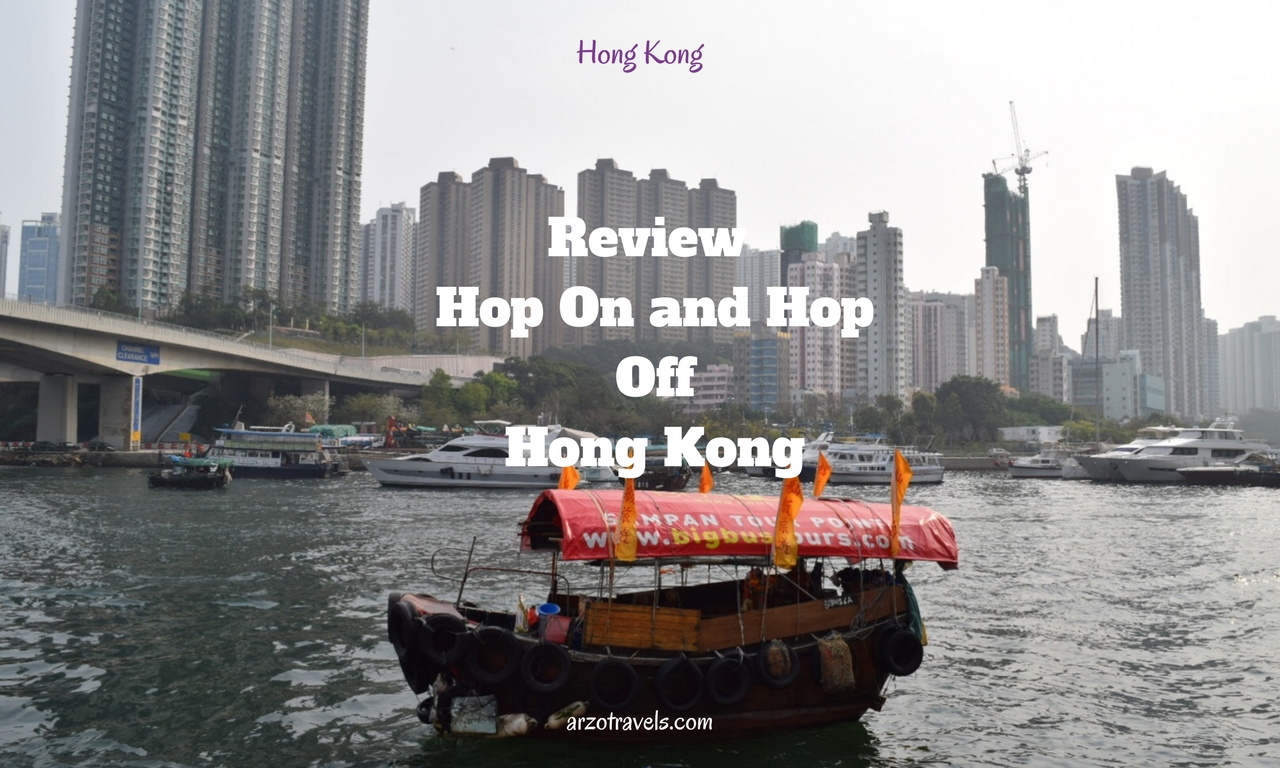 Big Bus Hop On and Hop Off Bus Tour in Hong Kong