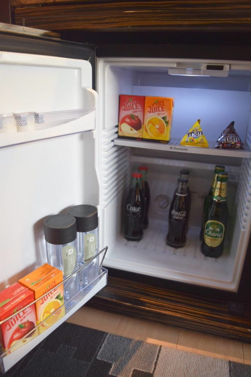 Review: Hotel Icon Hong Kong - Free Mini Bar