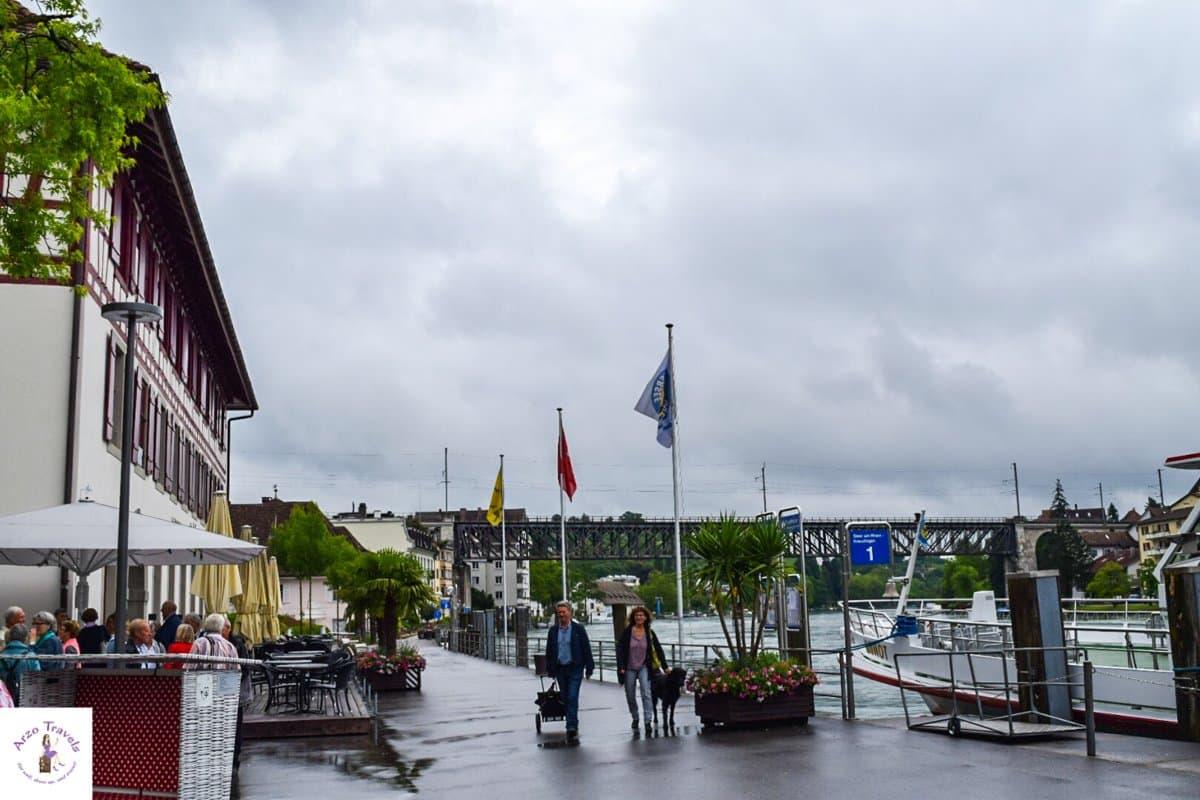 Stroll along the Rhine river