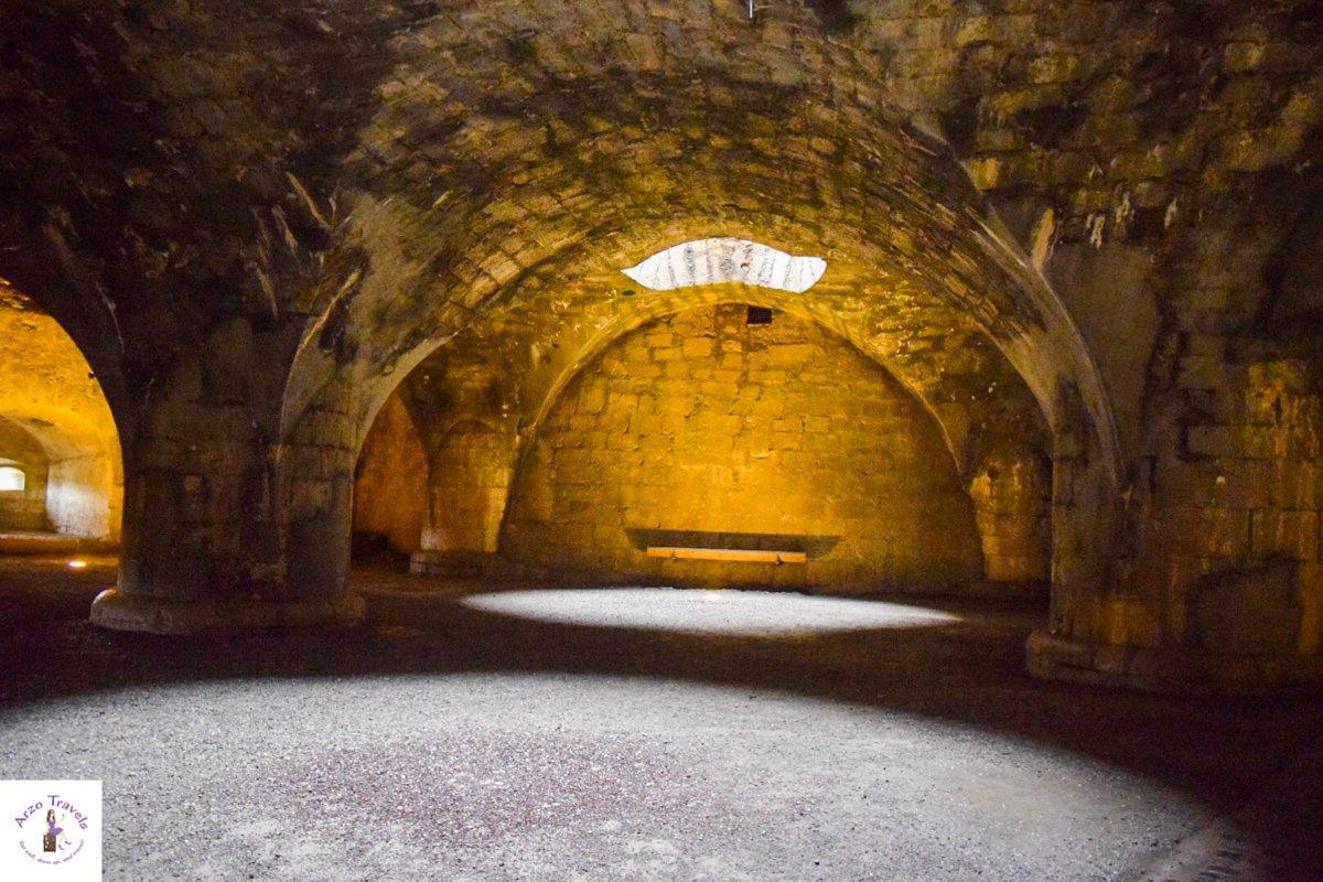 Inside the Munot in Schaffhausen