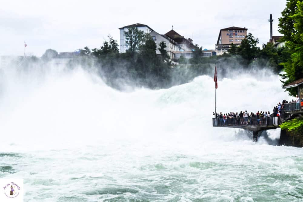 Schaffhausen, Neuhausen Rhine Falls A Must-See Place in Switzerland