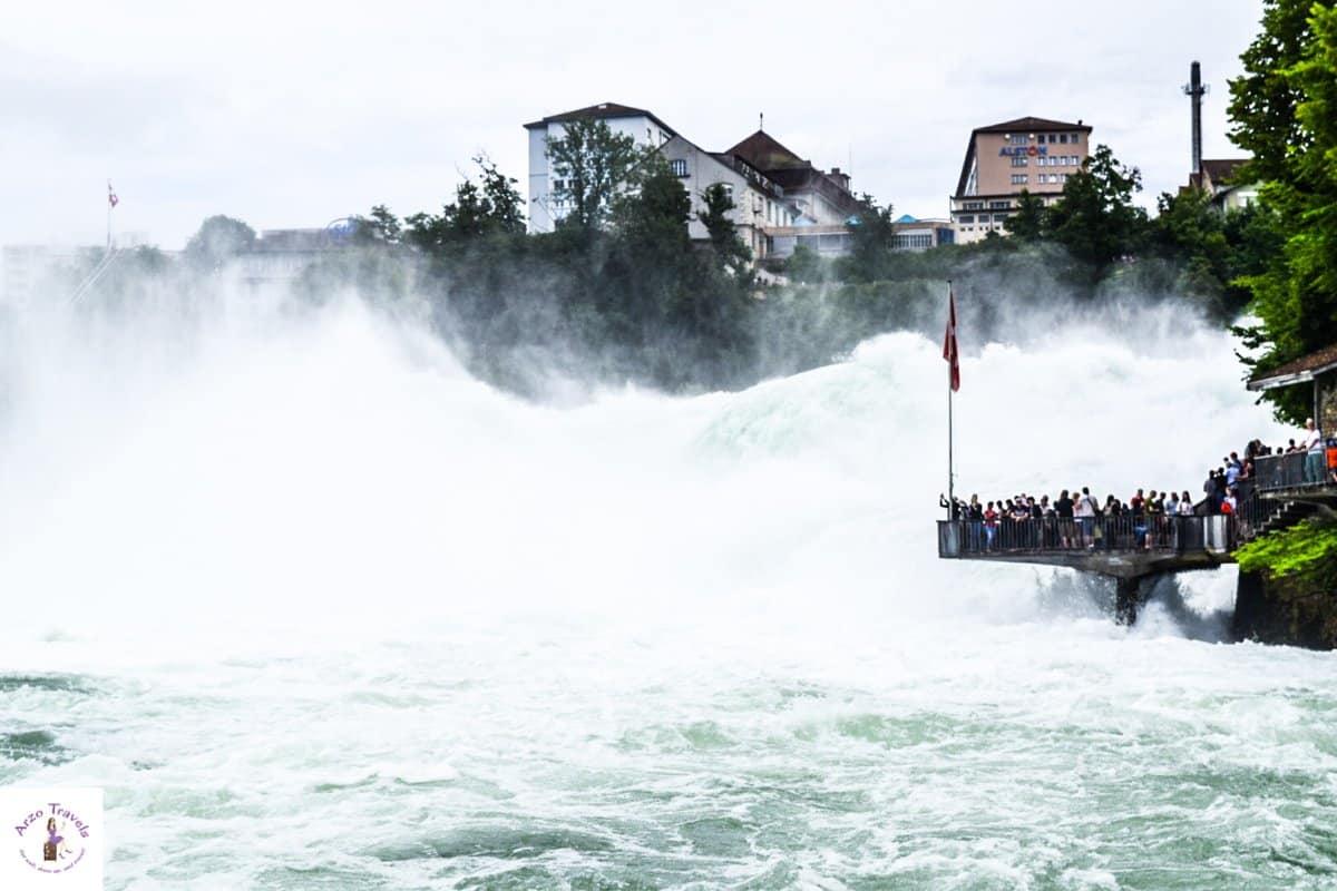 Schaffhausen, Neuhausen Rhine Falls A Must-See Place in Switzerland