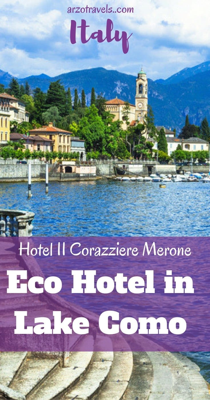 Lake Como - Review: Hotel II Corazziere Merone, a beautiful 4* eco hotel in Italy.