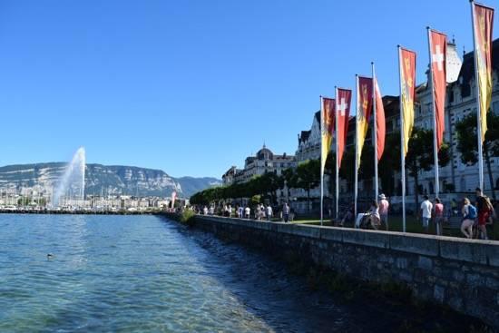 Just a stone throw away- Lake Geneva