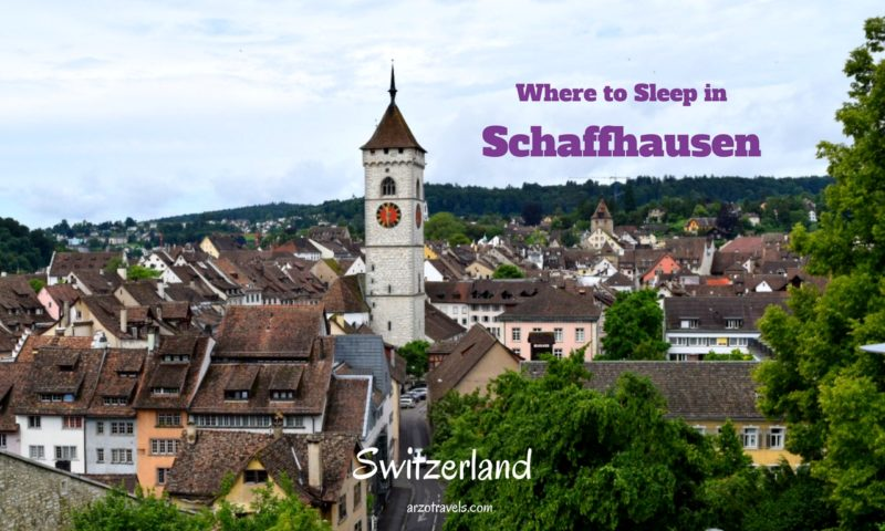 Schaffhausen - where to sleep