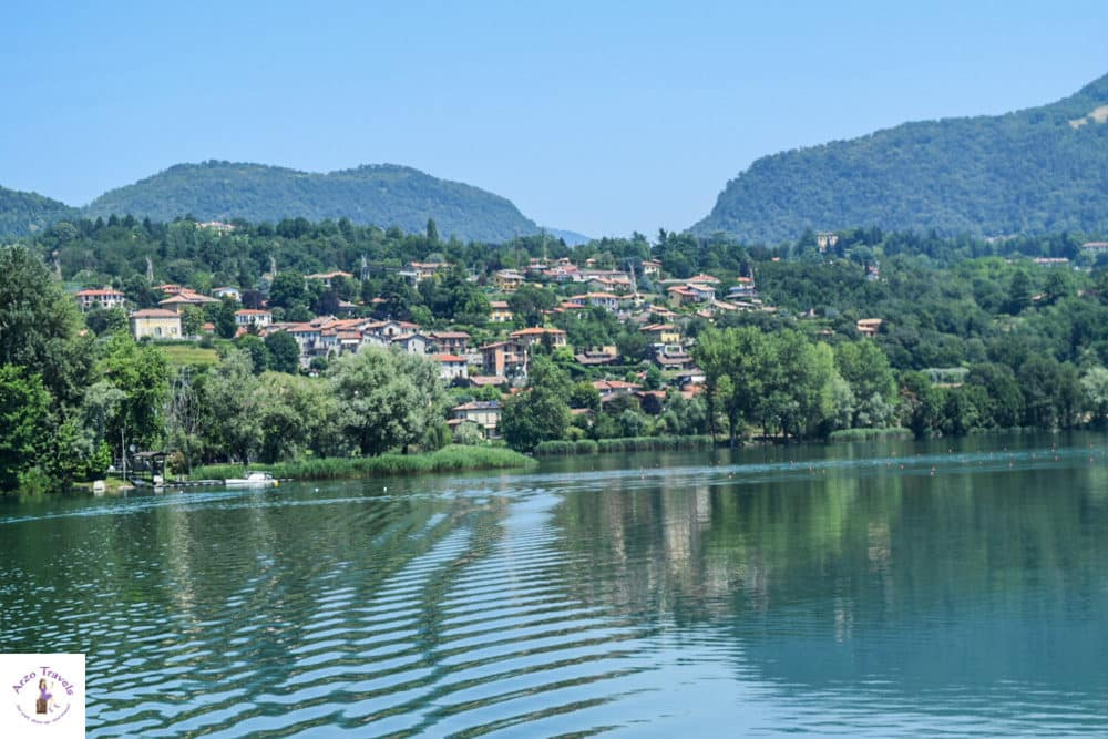 Lake Pusiano in Lombardy itinerary