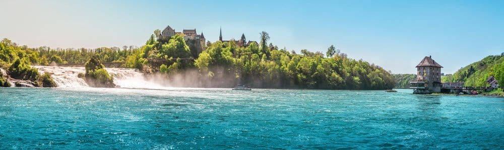 How to get to the Rhine Falls