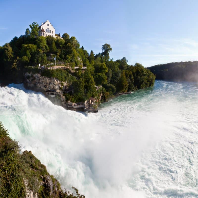 Rhine Falls in Schaffhausen @shutterstock