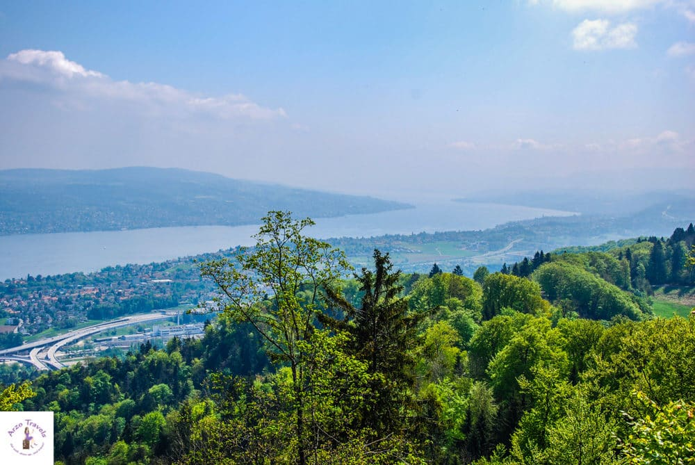 view from uetliberg how to get there in 2 days in Zurich