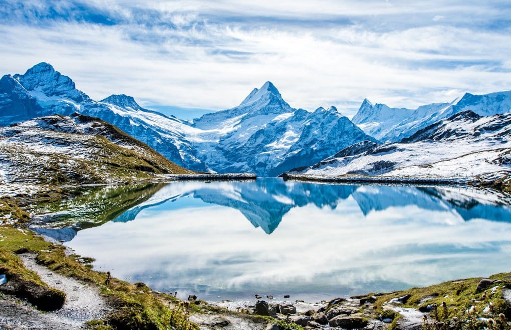 Bachalpsee in Grindelwald - not too far from Hotel Caprice