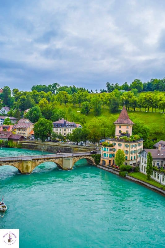 Bern things to do - Bern Switzerland points of interest a view from Münster