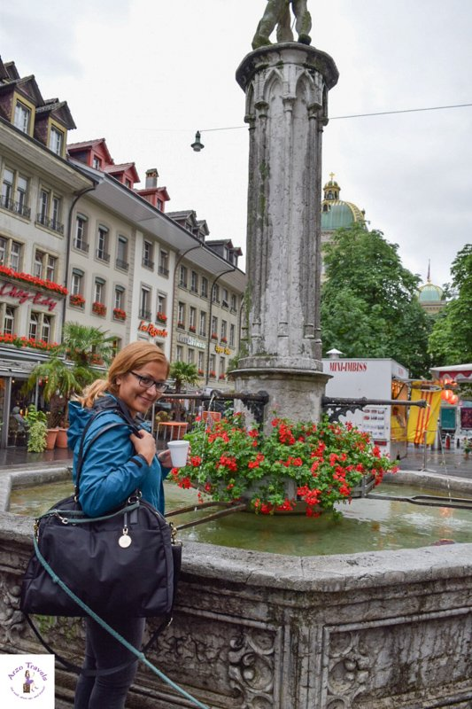 Water fountains in Europe - drink fresh water for free