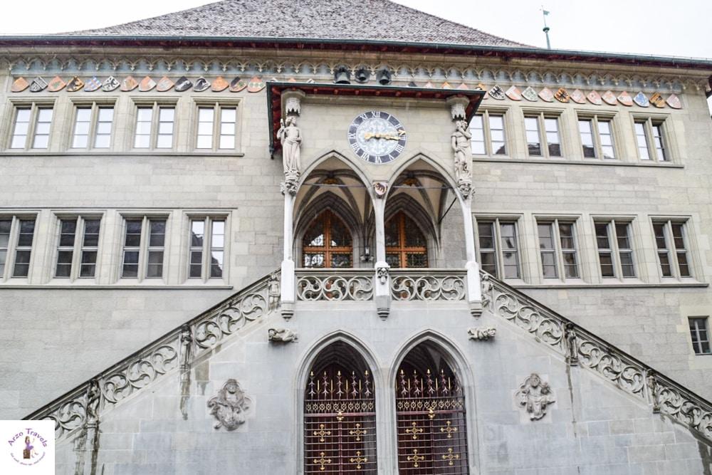 Places to visit in Bern Switzerland - Bern in Switzerland Town Hall in Bern