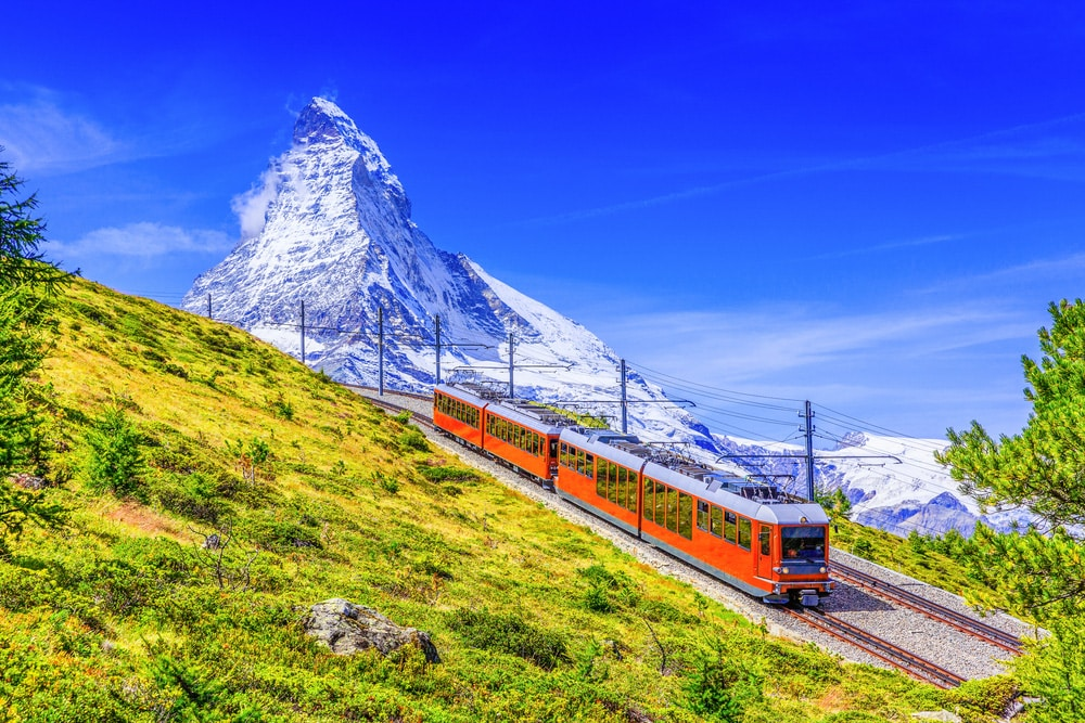 Places to visit in Zermatt - points of interest in Zermatt Gornergrat