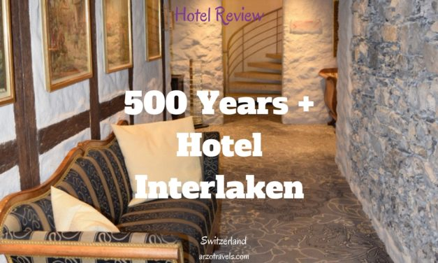 Review: Hotel Interlaken in Switzerland