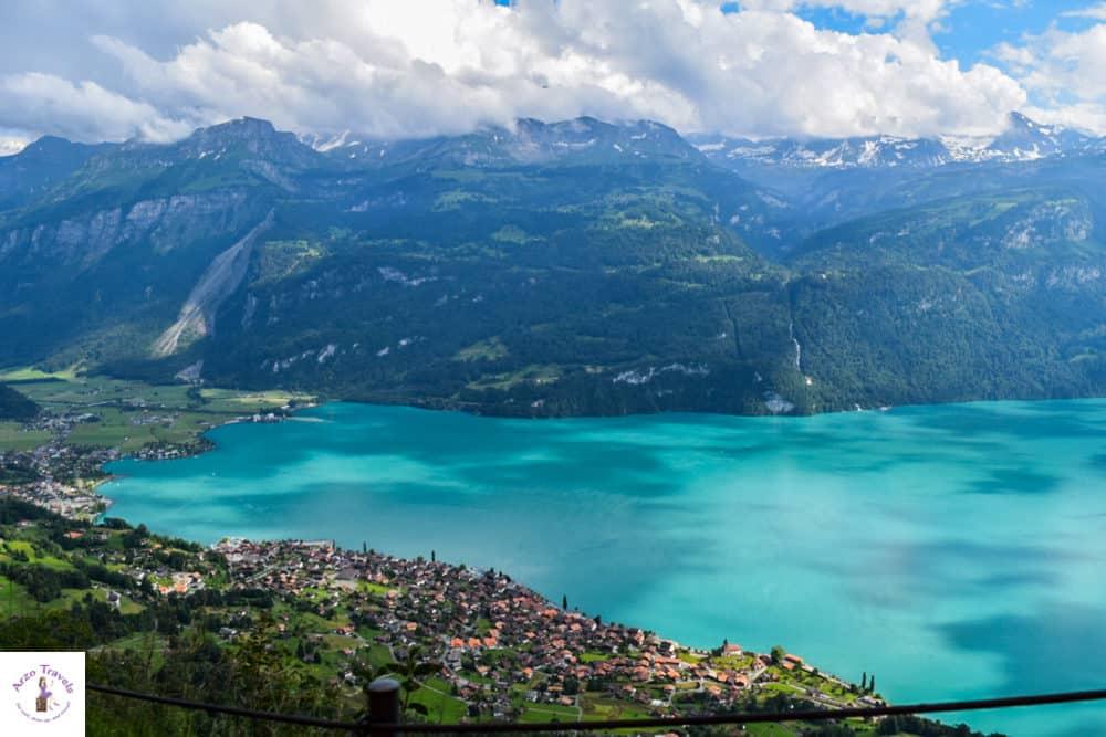 Most beautiiful lake in Siwtzerland Lake Brienz