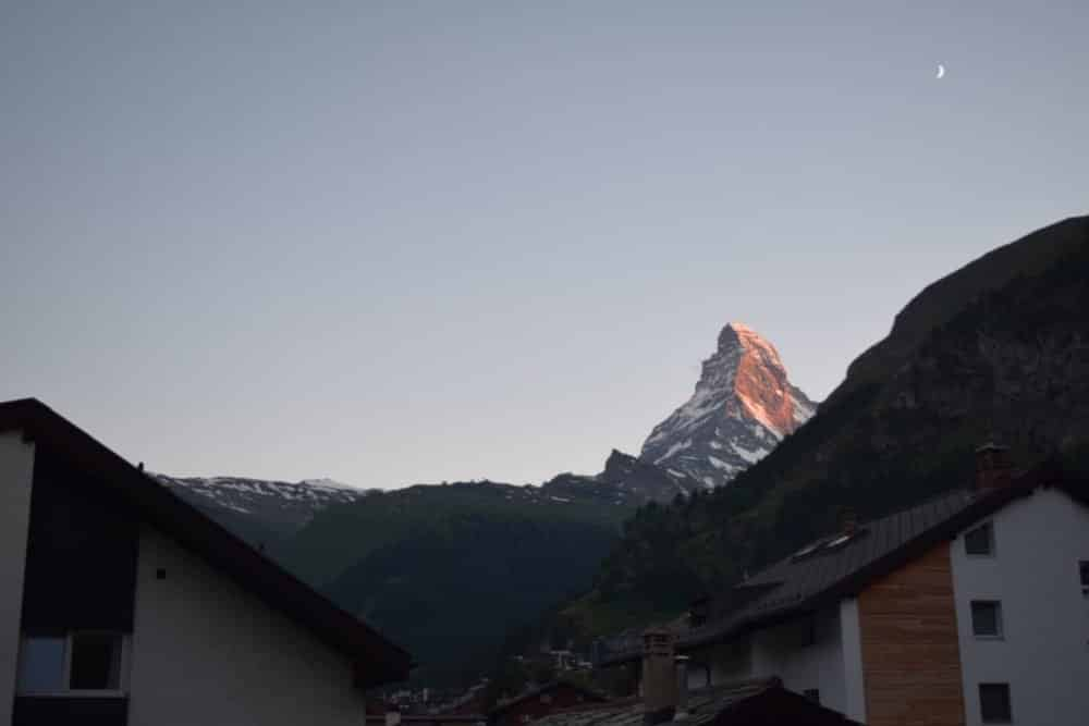 Room with a view at Sunstar Style Hotel Zermatt