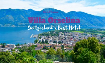 Small Luxury Hotel Villa Orselina