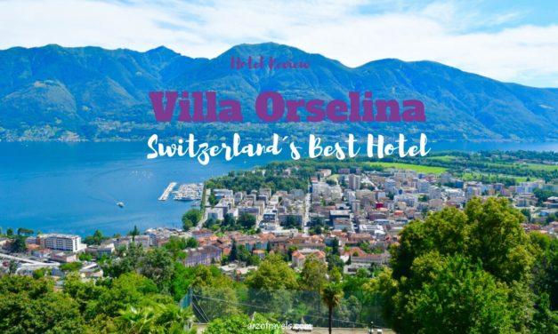Hotel Review: Small Luxury Hotel Villa Orselina