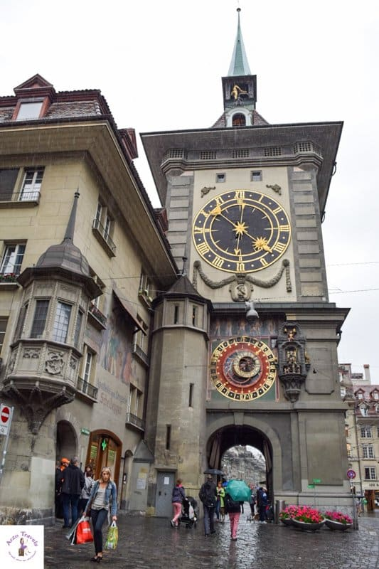 What to see in Bern - the famous clock